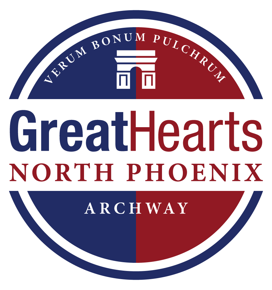 Great Hearts Archway North Phoenix, Serving Grades K-6  School Crest